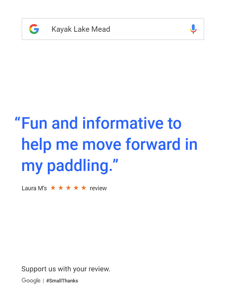 Fun and informative to help me move forward in my paddling.