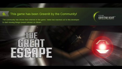 The Great Escape has been greenlit.