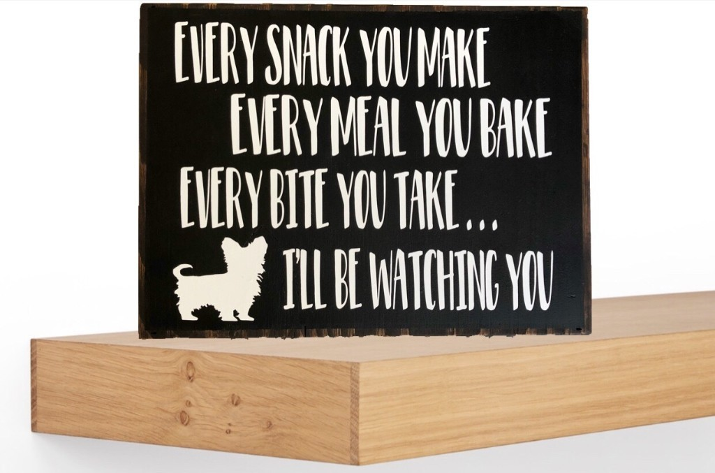 Dog Lover Quote Sign