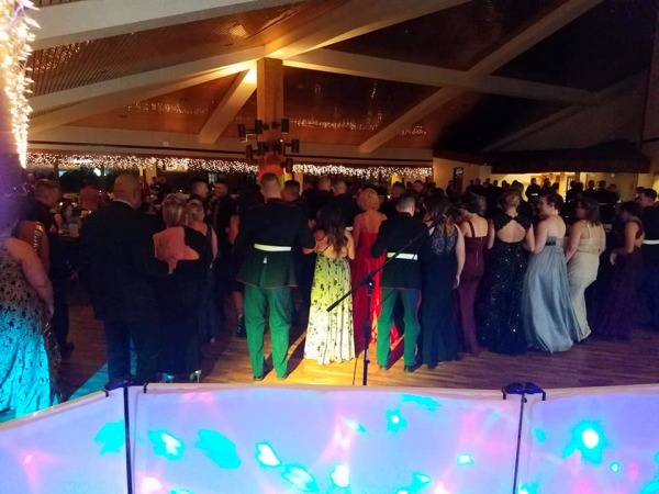 DJ and Karaoke at the Marine Ball