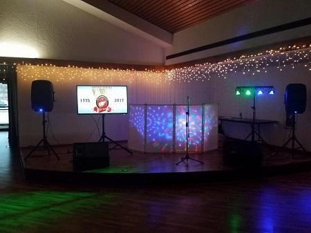 DJ set in Peru Indiana