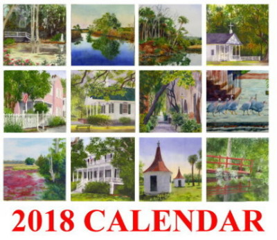 My 2018 CALENDARS ARE HERE!
