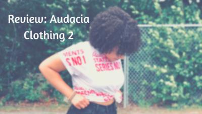 Review: Audacia Clothing 2