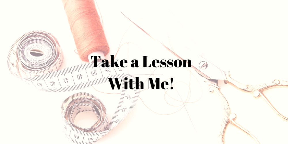 Take a Lesson With Me!
