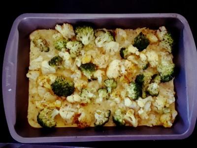 Broccoli & сauliflower casserole