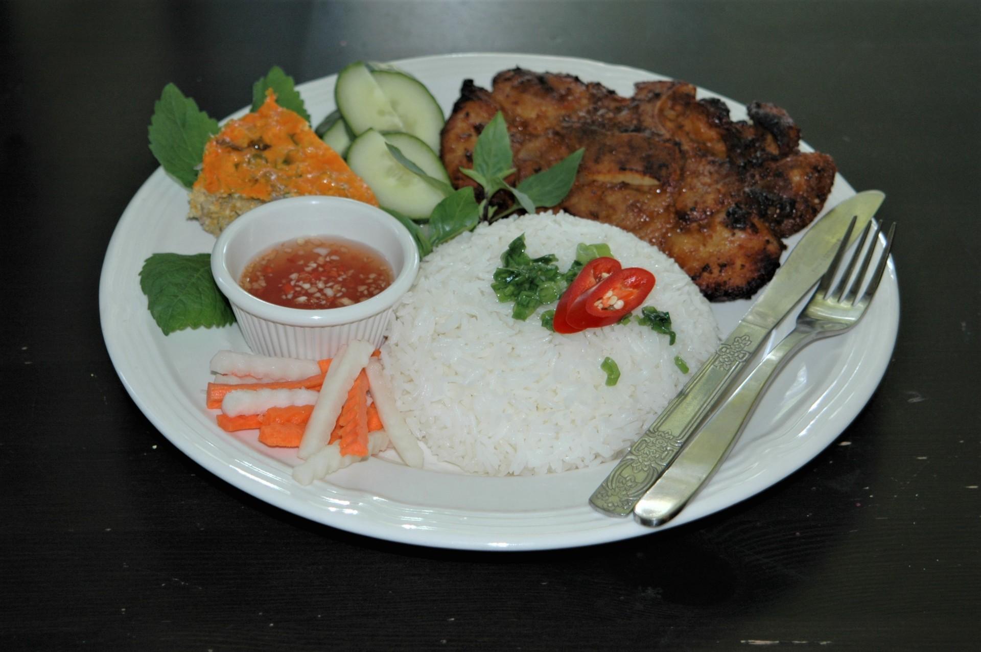 Rice Platter