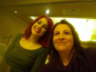 Emily and Christina