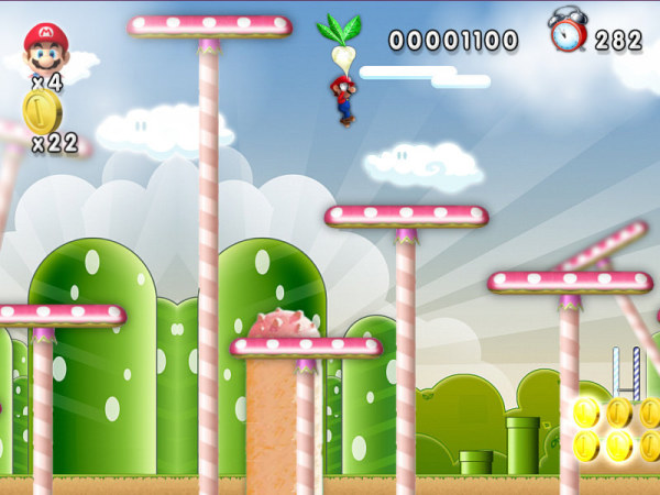 New Mario Forever 2012 Musrhoom Level