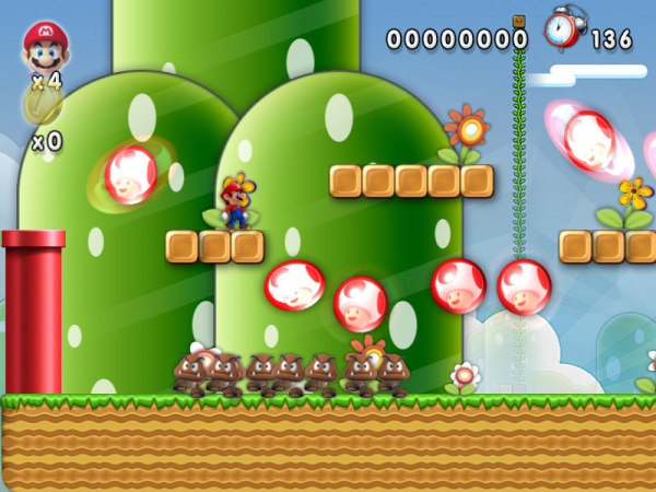 New Mario Forever 2012 Fight on the map