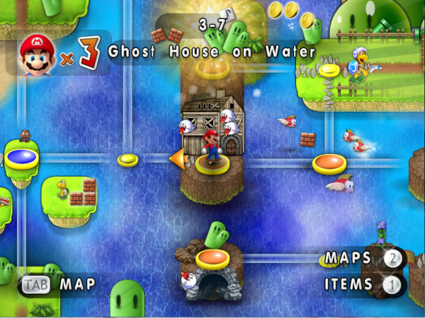 Water Map Super Mario Download