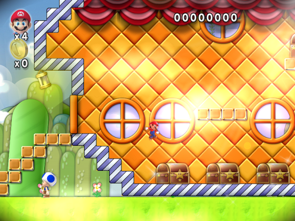 Bonus Stage - Mario Muschroom House