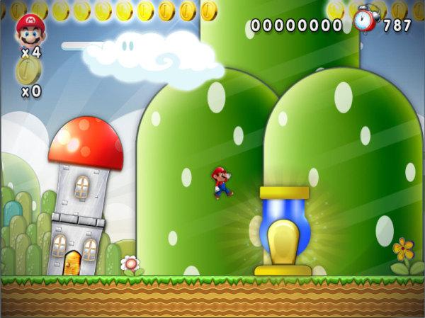 Mario Cannon - Bonus Stage