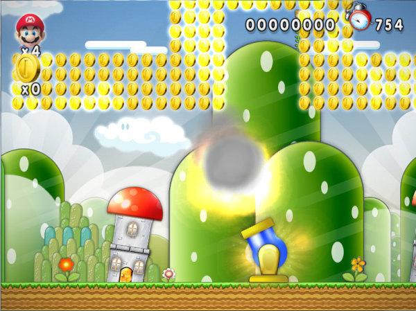Bonus Stage - Cannon Mario