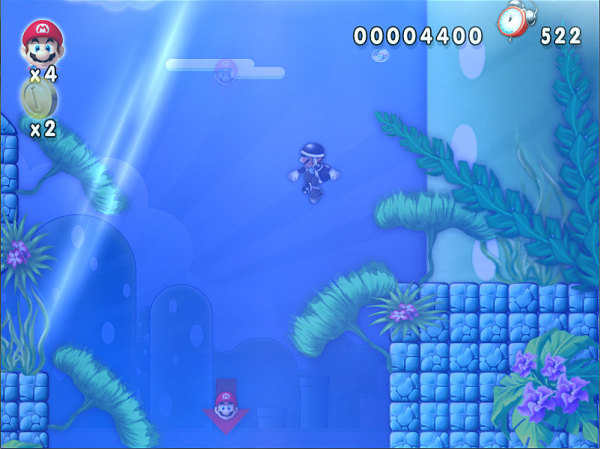 Water World in Super Mario
