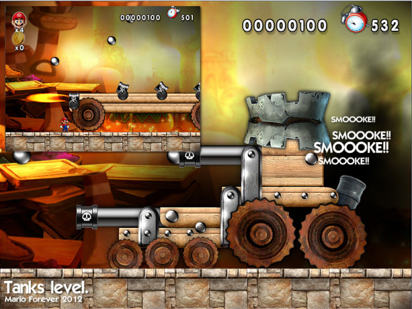 New Mario Forever Tanks 2
