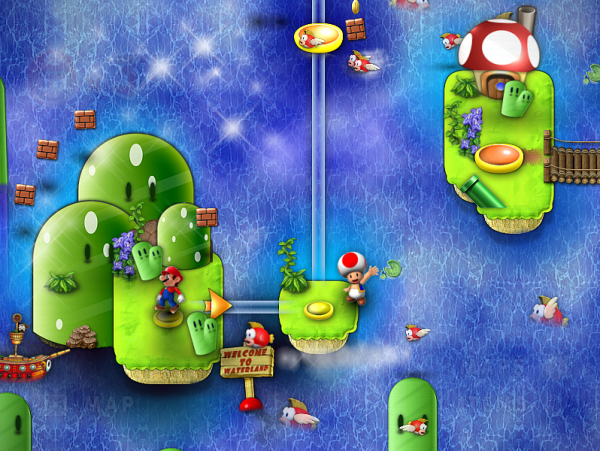 New Mario Foever - Map