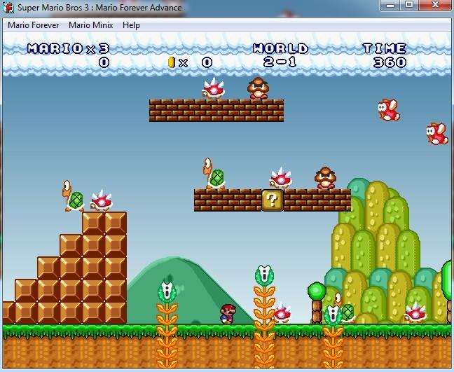 Super Mario 3 : Mario Forever ADVANCE EDITION