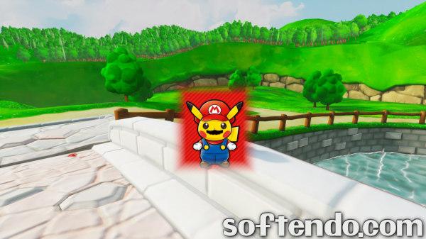 supa mario 64 remake demo unreal tournament unreal engine 4.0