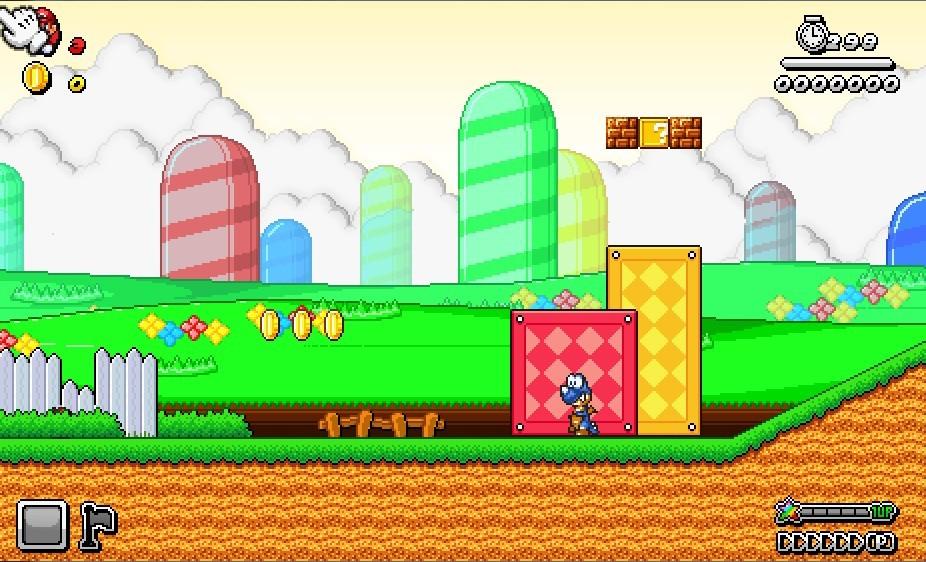 Super Mario 2D Universe X