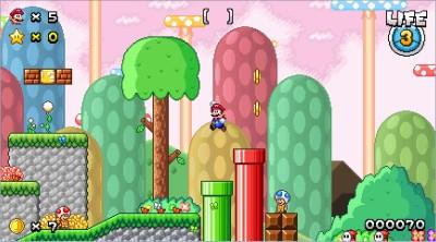 Softendo Mario Forever Fangame - Powerstar Frenzy