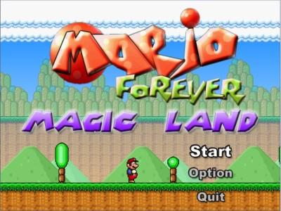 Softendo Mario Forever Fangame - Magic Land