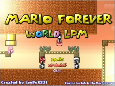 Mario Forever LPM Fangame