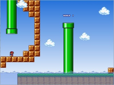 Softendo Fangame - Mario Waterworld Forever