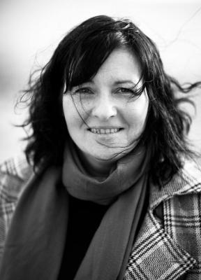 Black and white photo of Eloise Williams (author).