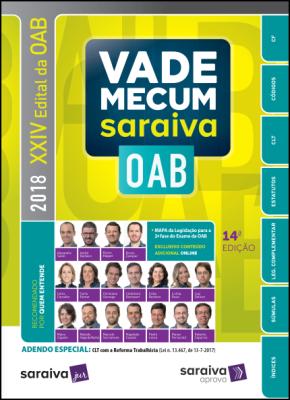Vade Mecum Saraiva OAB - 14ª Ed. 2018