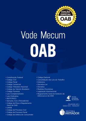 Vade Mecum OAB Armador - 4ª Ed. 2017