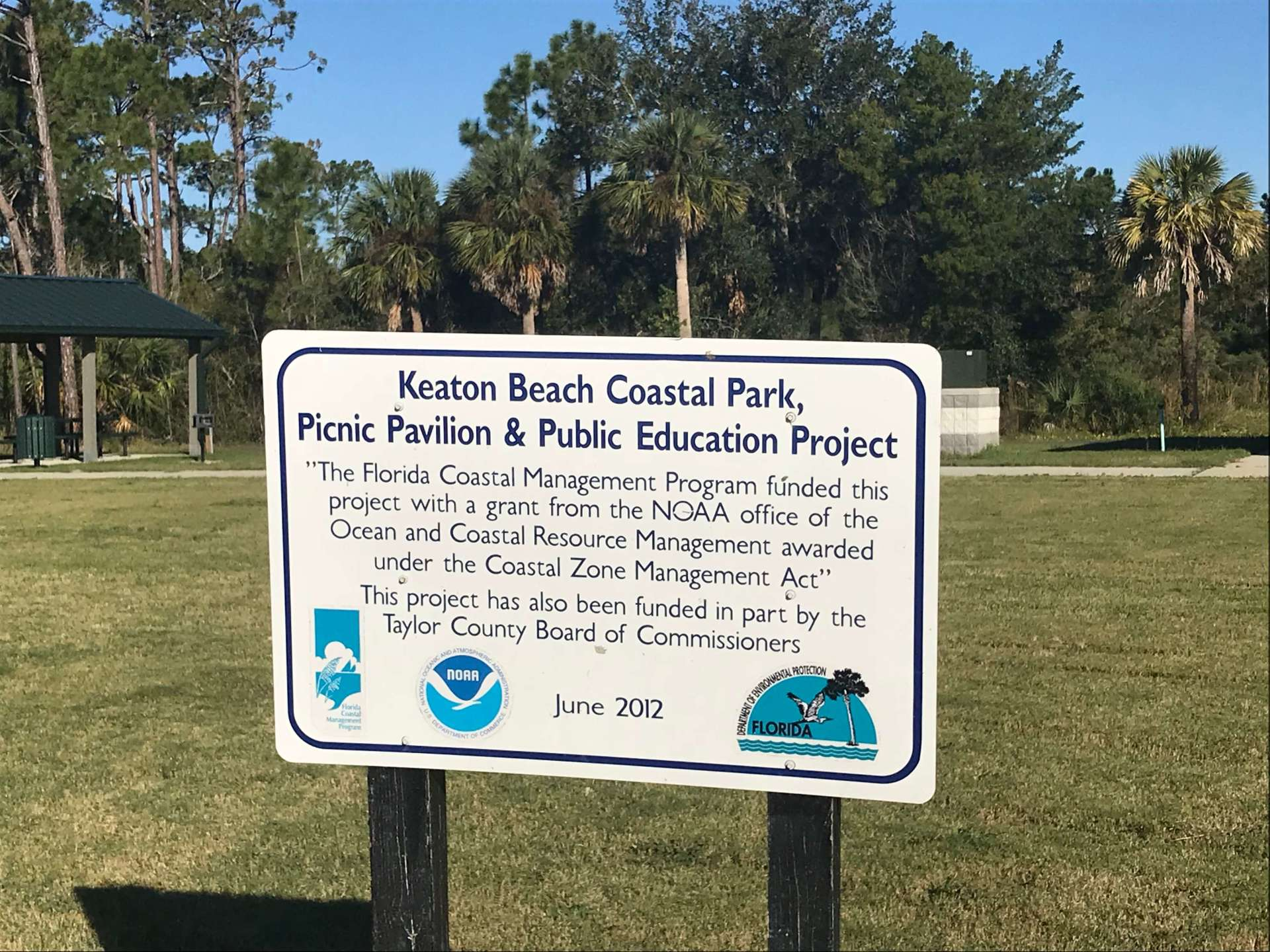 Keaton Beach coastal park
