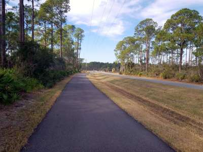Keaton Beach bike path