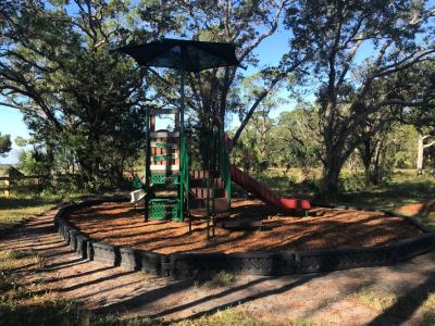 Keaton Beach coastal park playground