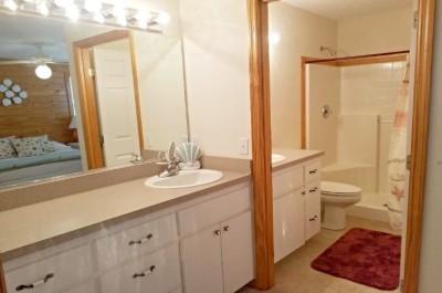 King Bedroom Bathroom & Vanity