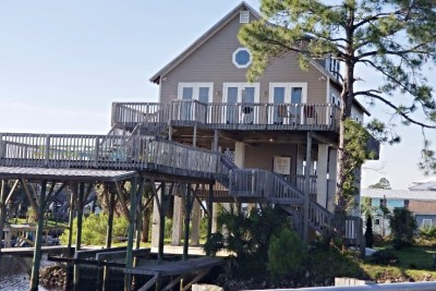 Keaton Beach Vacation Rental Fish Gills exterior