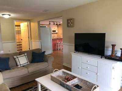 Living room at Fish Gills Vacation rental at Keaton Beach