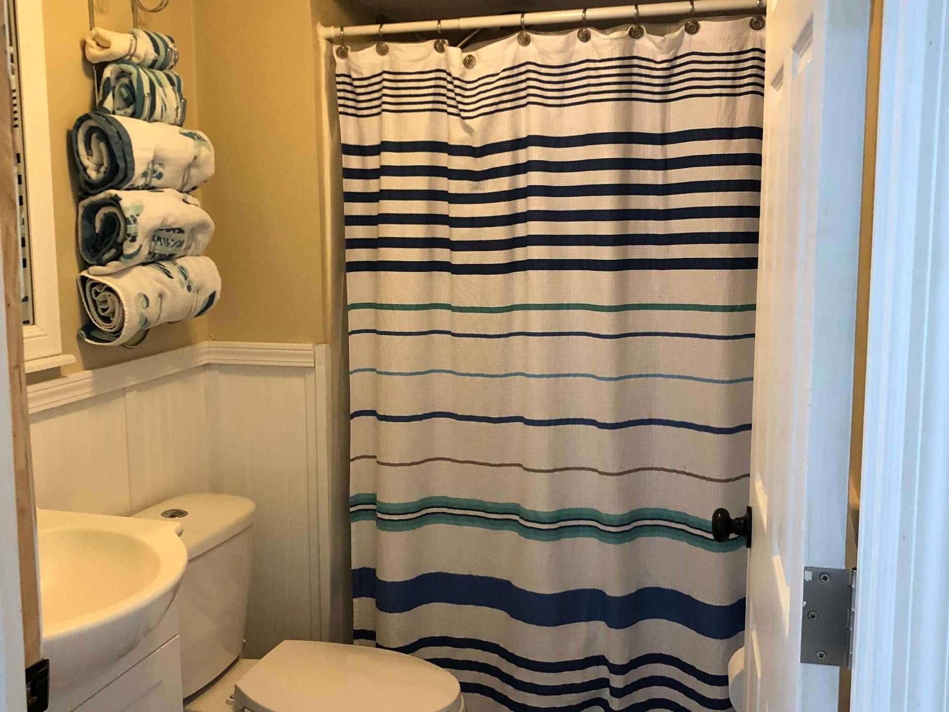 King Bedroom Ensuite Bath With Shower