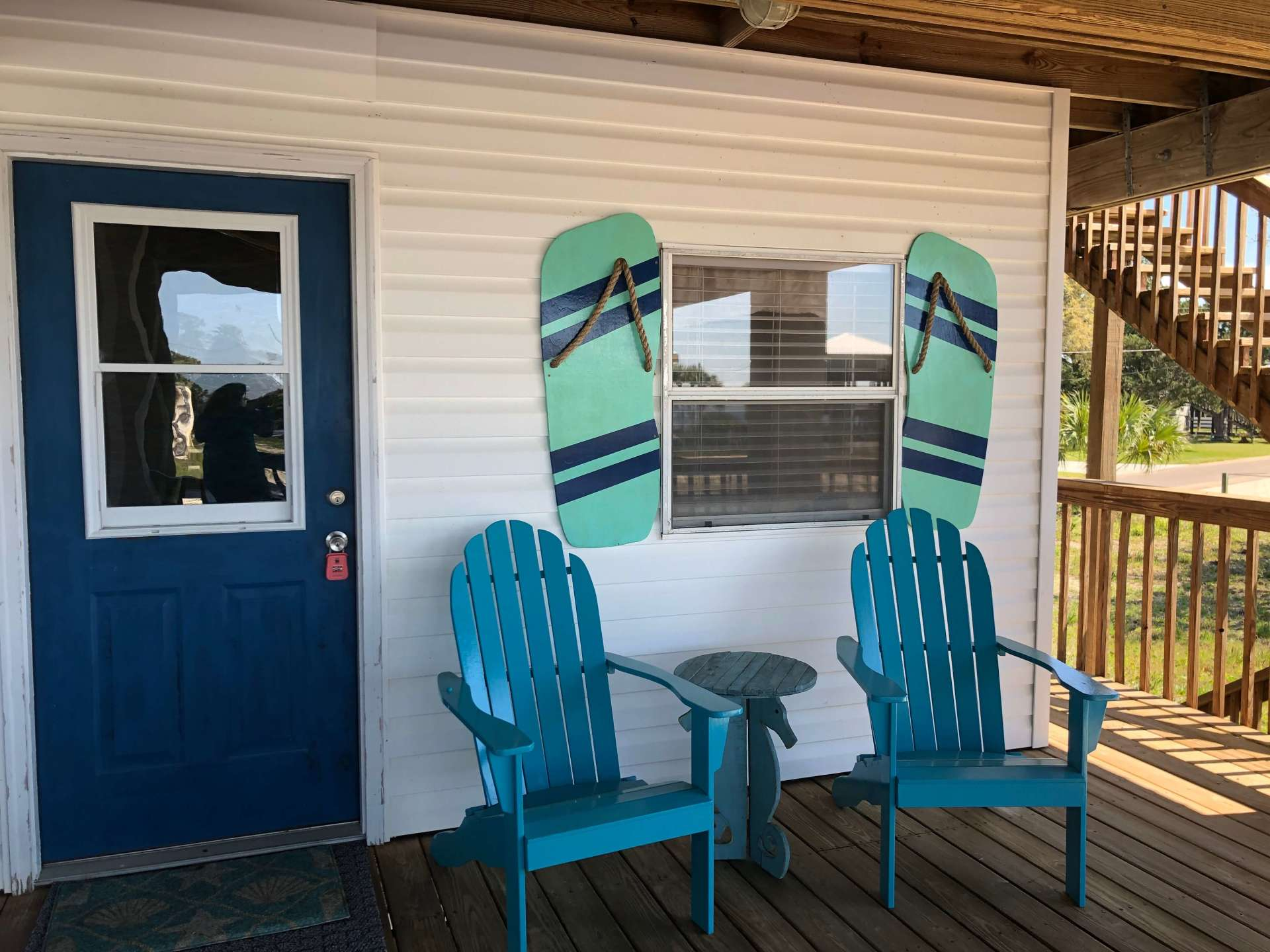 Outside Seating Margaritaville Efficiency Available for Additional Charge When Renting Main Home