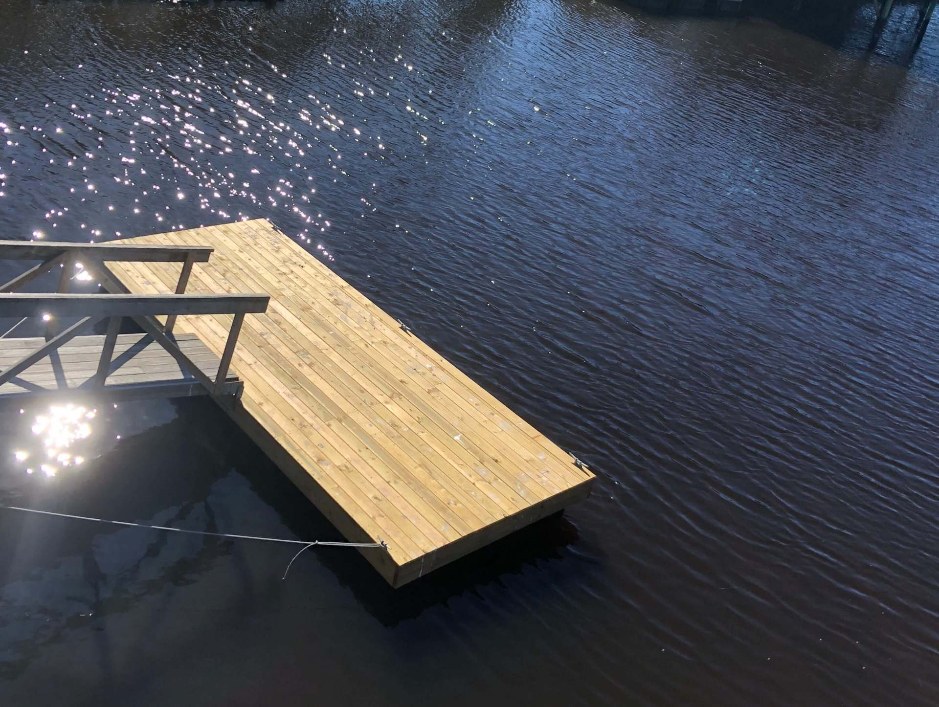 Dock Space for 2 boats Fish Gills