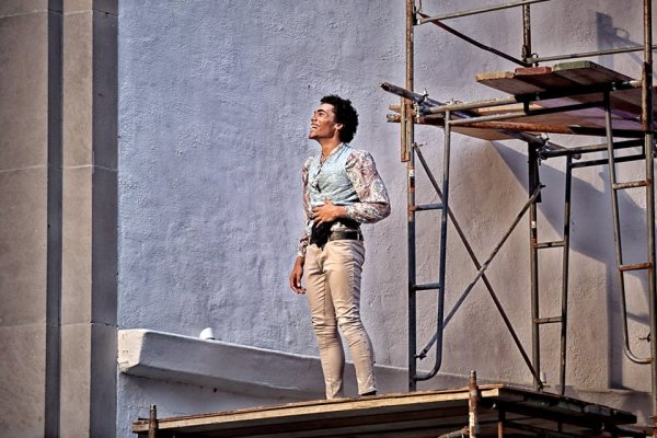 Romeo and Juliet, as Romeo