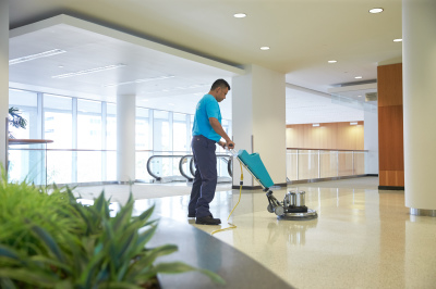 """Replace floor """"Wax"""" with ServiceMaster's NeverStrip coating"""