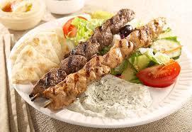 Chicken or Beef Souvlaki