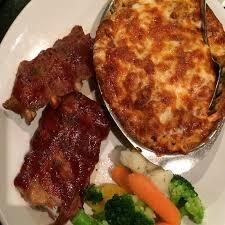 Ribs and Lasagna