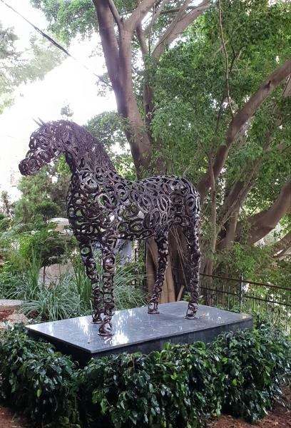 Life-sized horse
