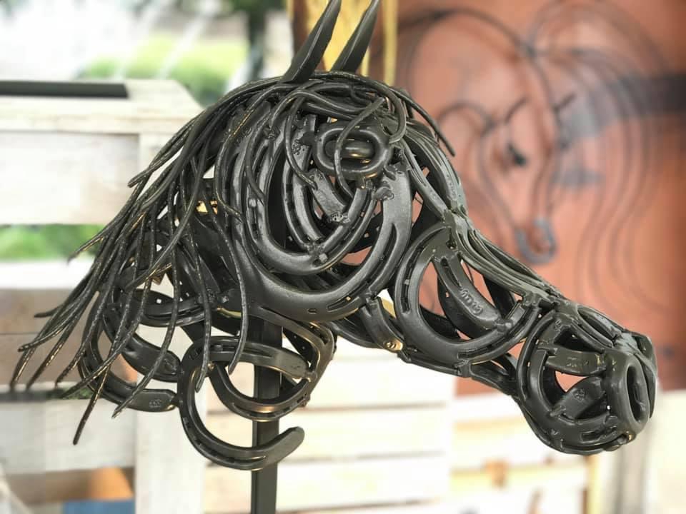Arabian horse head (H85cm)
