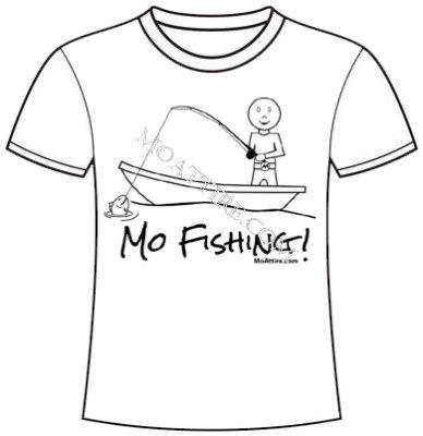 Mo Fishing T-Shirt