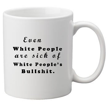 White People Mug