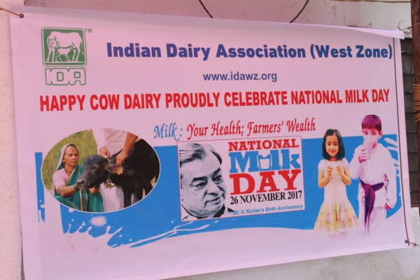 Koregaon - Celebrating National Milk Day 26th Nov