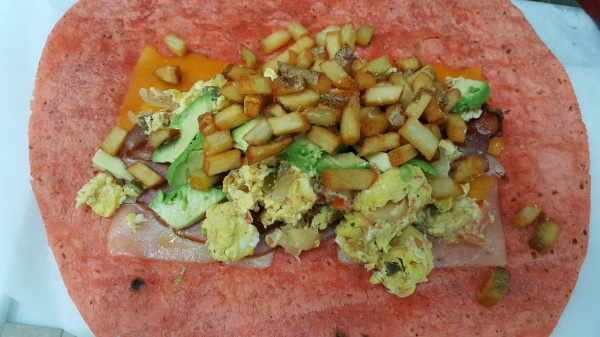 Another Breakfast Wrap.