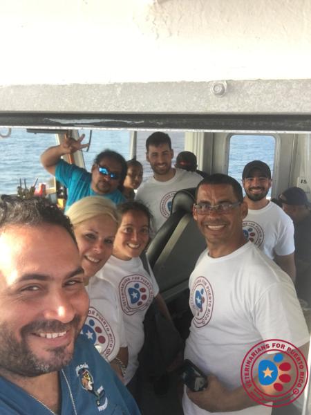On the way to Culebra